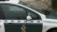 Un coche de la Guardia Civil. ADP