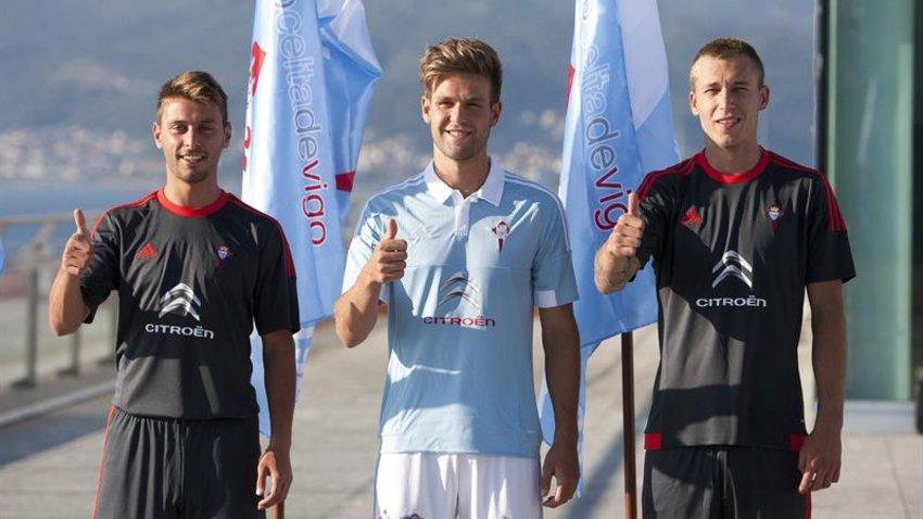 El Celta de Vigo presenta sus nuevas camisetas 27e80506c14