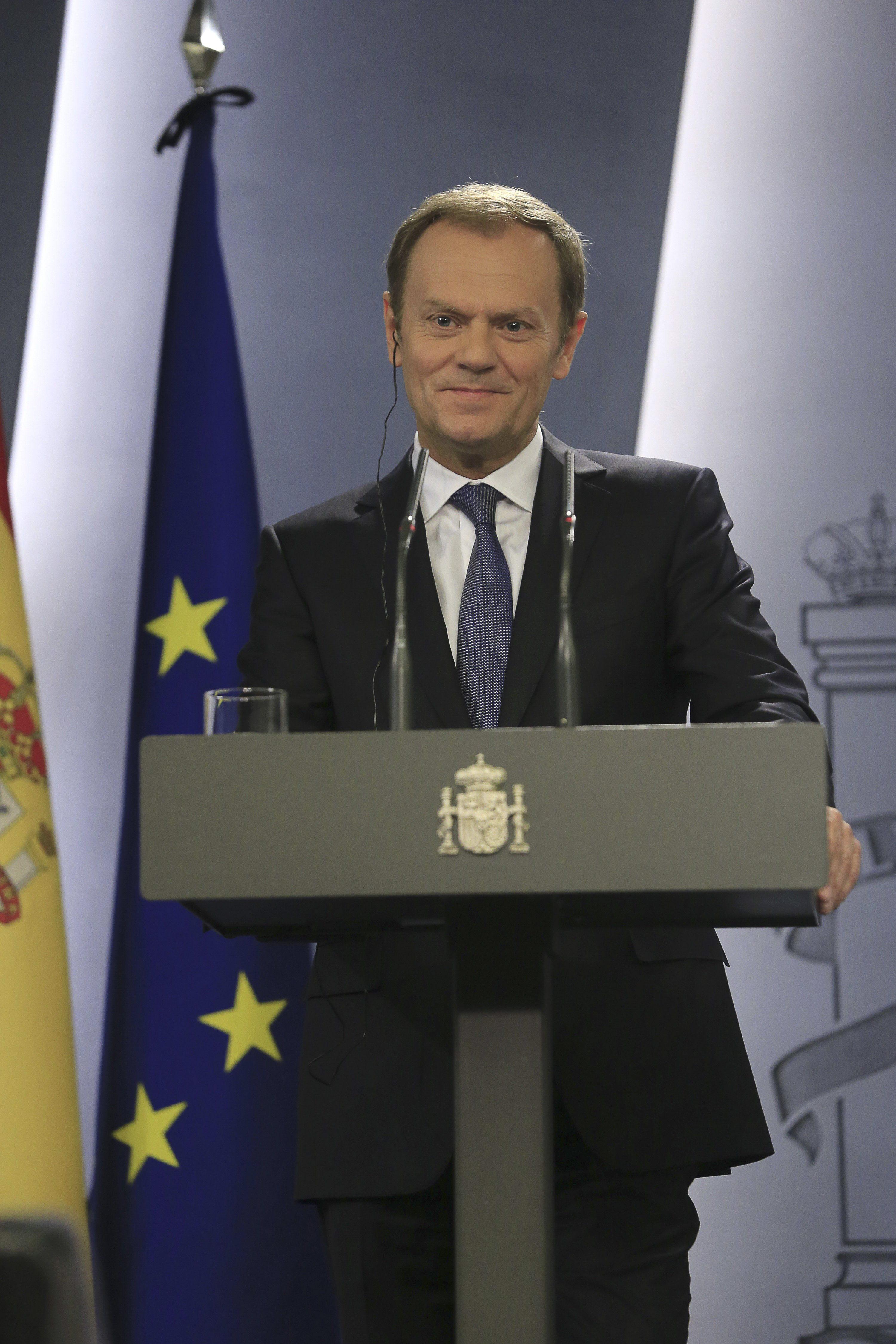 Los l deres de la ue celebrar n el jueves una cumbre sobre for Presidente del consejo europeo