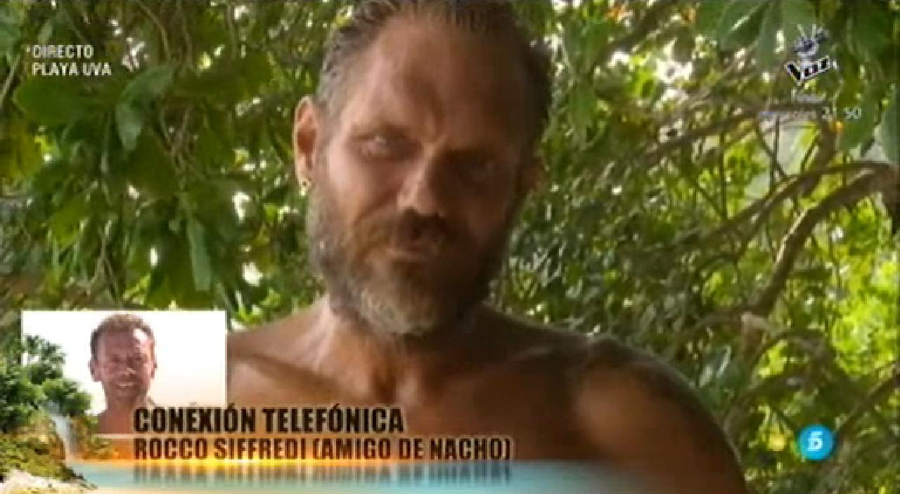 Actor Porno En Parlamento rocco siffredi llama por sorpresa a nacho vidal