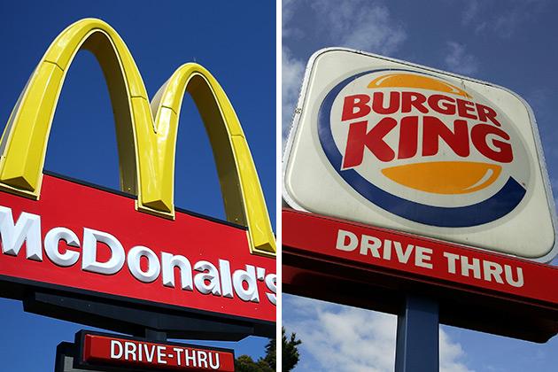 """Résultat de recherche d'images pour """"Mc Donald Burger King Images"""""""