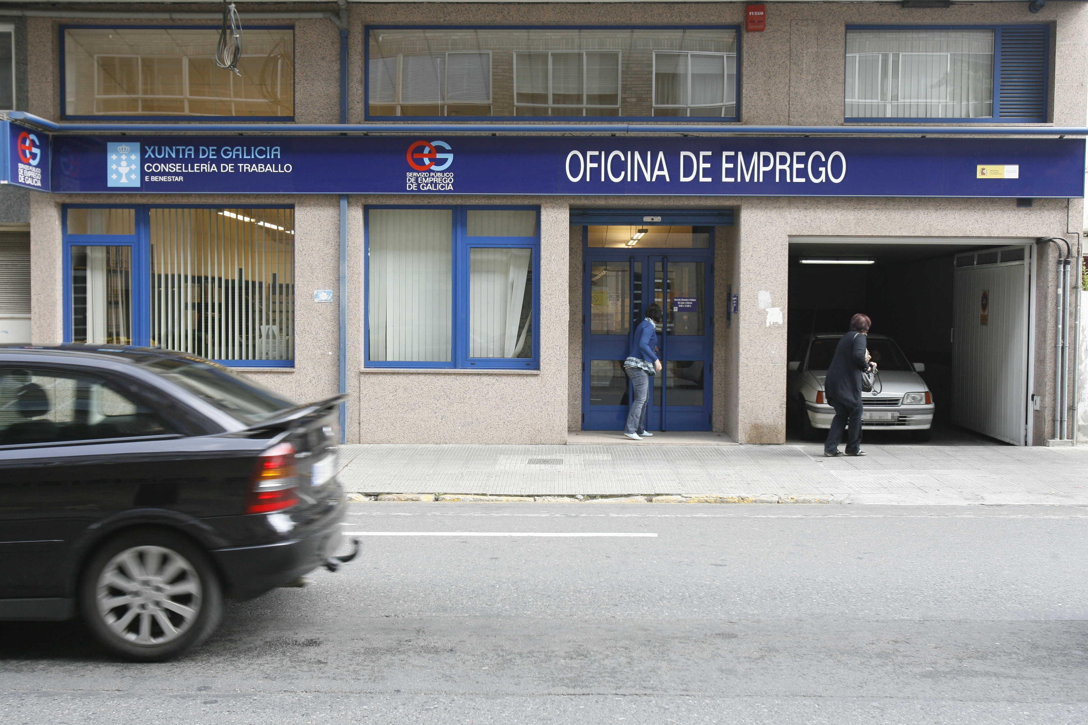 El paro baja en galicia hasta el 16 3 for Oficina de empleo pontevedra