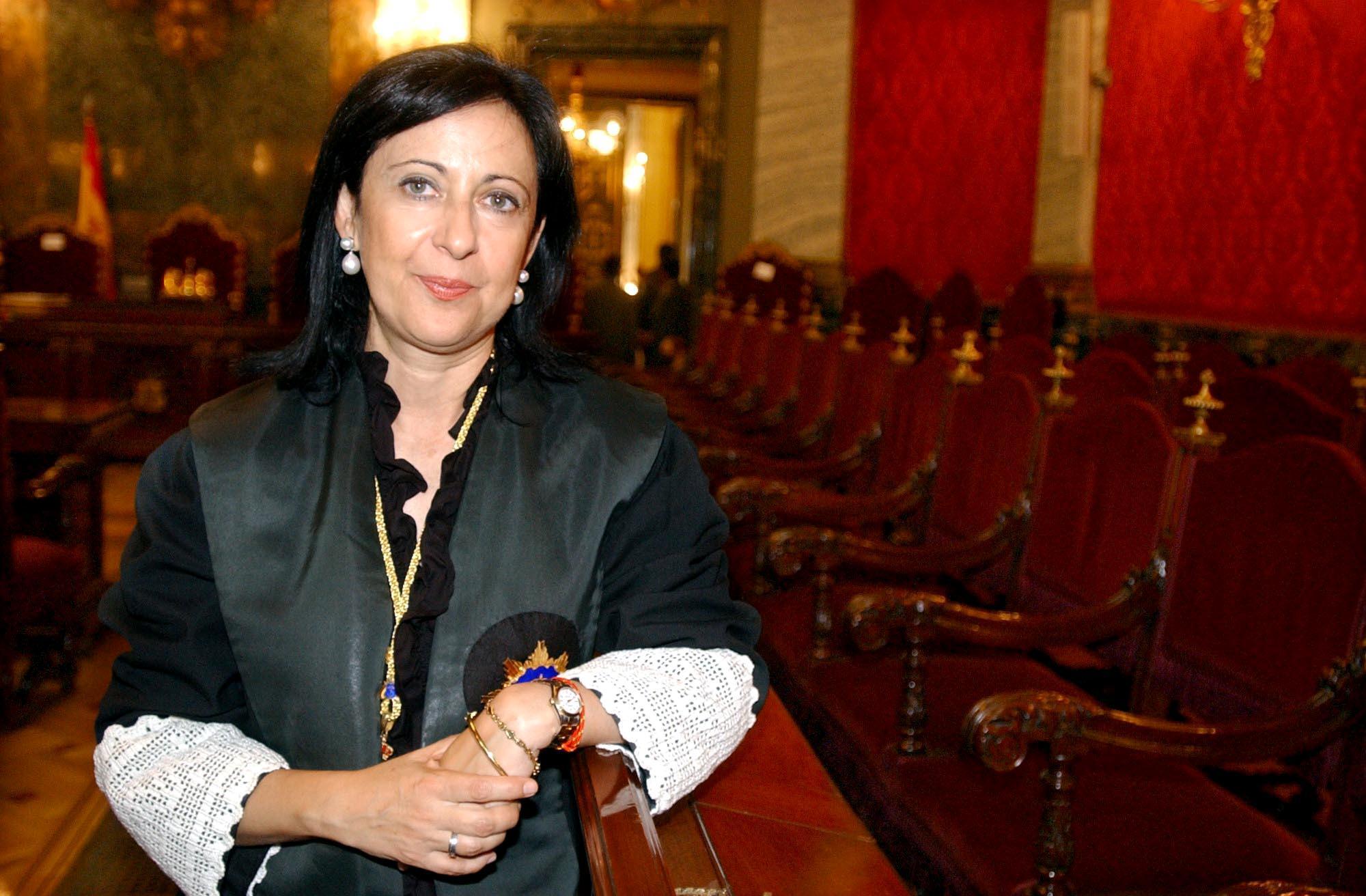Margarita Robles, número dos del PSOE por Madrid