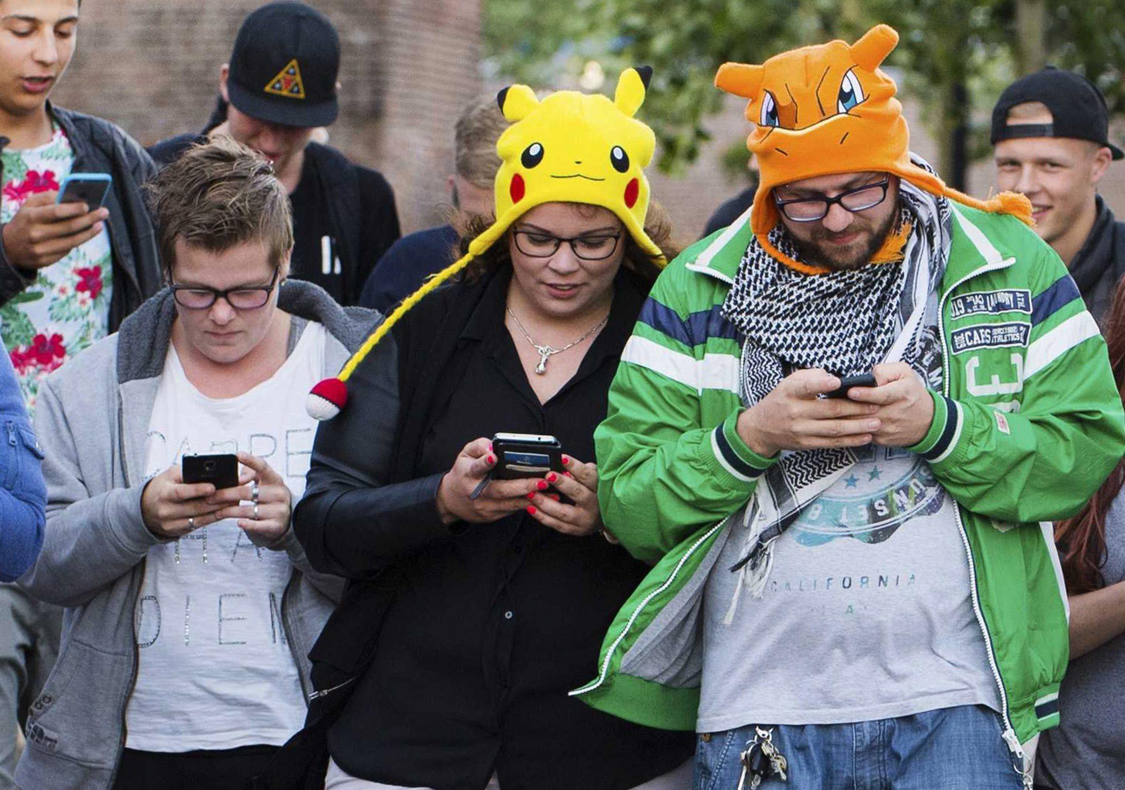 Qué locura el Pokemon Go!