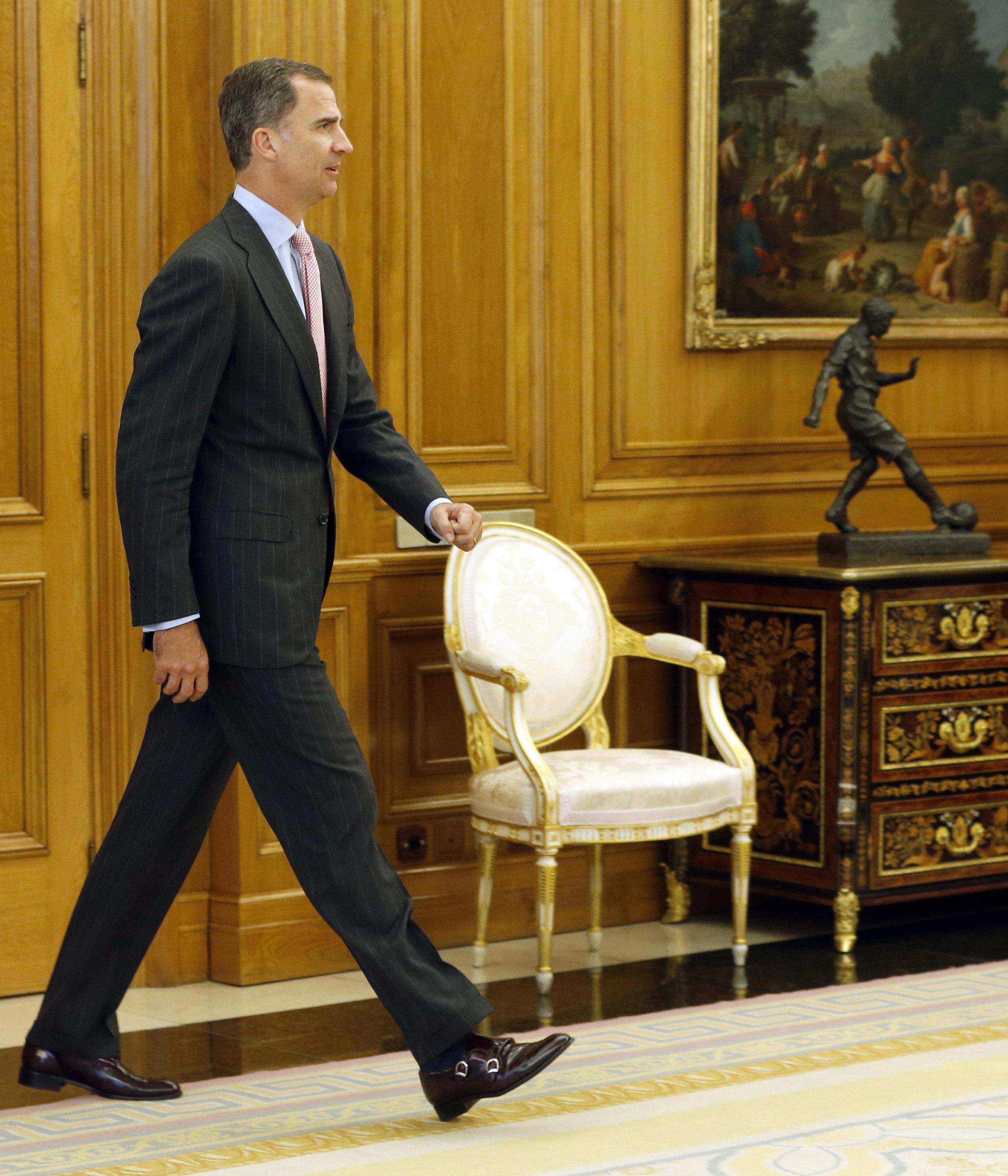 El rey Felipe VI reanuda su ronda de consultas con el portavoz del PNV