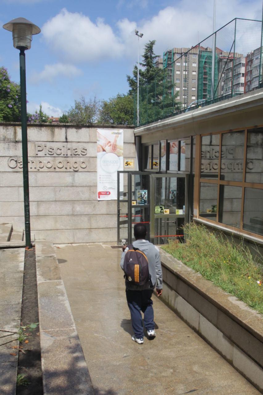La reforma del polideportivo de campolongo acabar a for Piscina campolongo