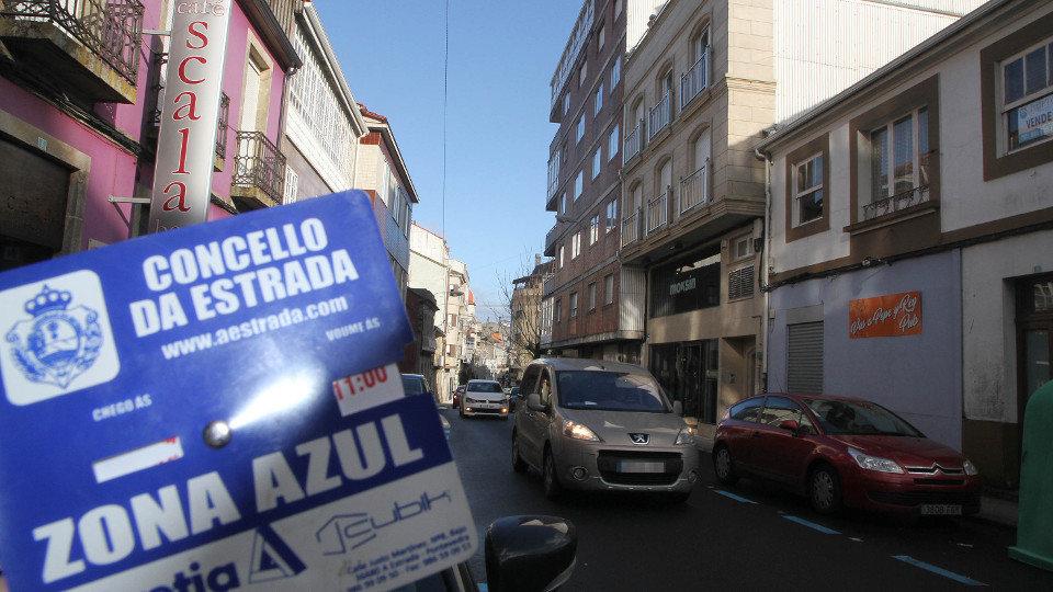 En La Calle Capitan Bernal En A Estrada Ya Es Necesario Usar El Disco