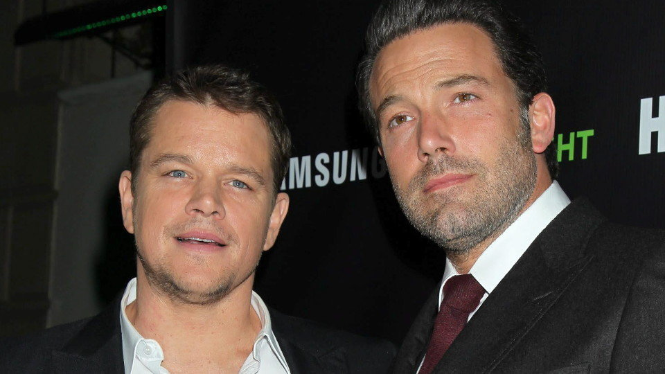 Matt Damon y Ben Affleck. JIMMY MORRIS (EFE)