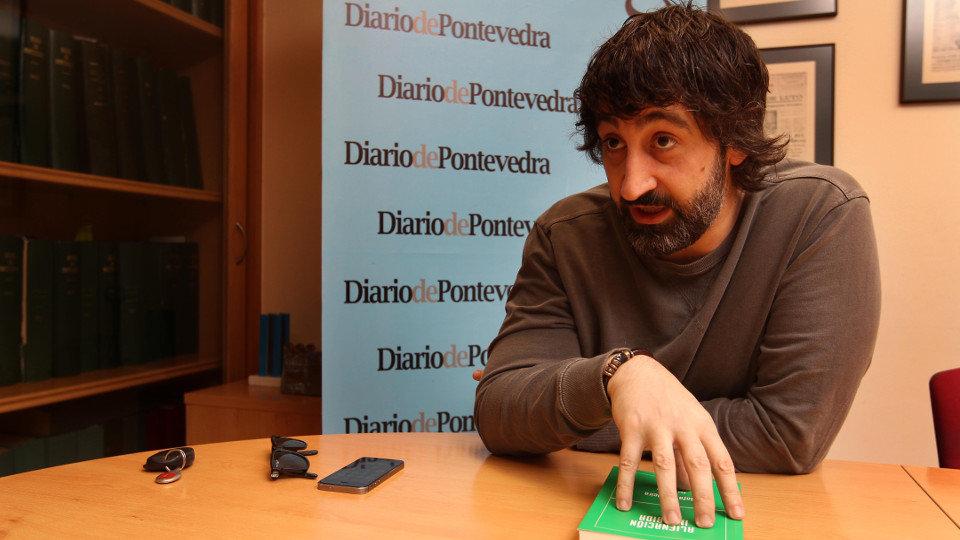 Rafa Cabeleira en Diario de Pontevedra. RAFA FARIÑA