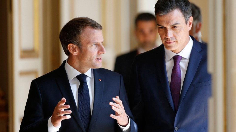 ¿Cuánto mide Emmanuel Macron? - Altura - Real height 2018062320564311900