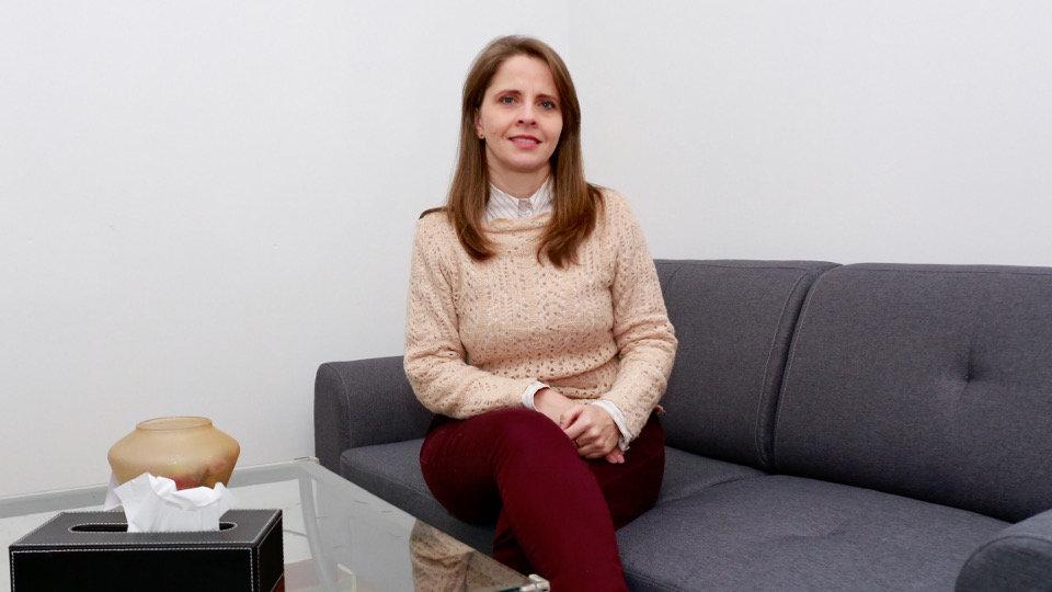 Mari Luz Losada, psicóloga. CHRISTIAN FERNÁNDEZ