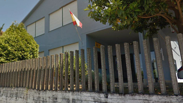 El cuartel de la Guardia Civil de Miño. GOOGLE MAPS