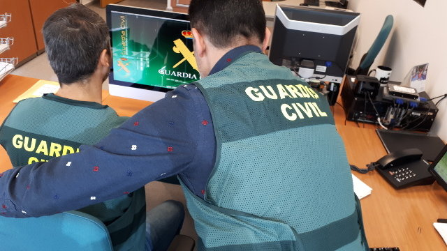 La Guardia Civil investiga el caso. DP