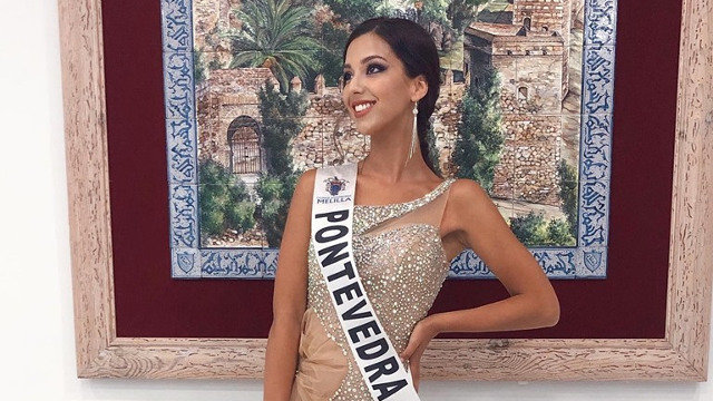 Miss Pontevedra brilla en la gala de Miss World Spain 2019