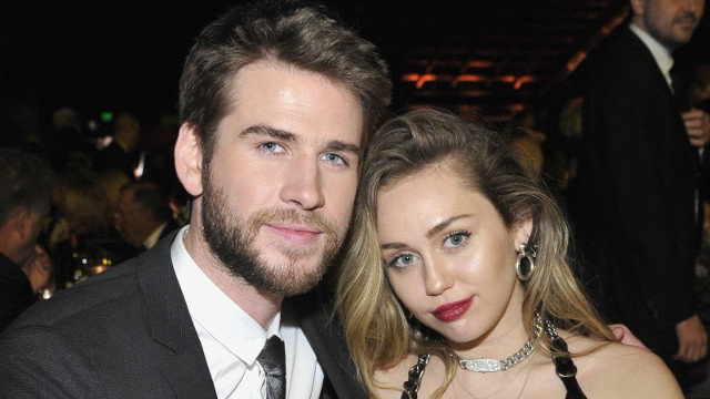 Miley Cyrus y Liam Hemsworth. AEP