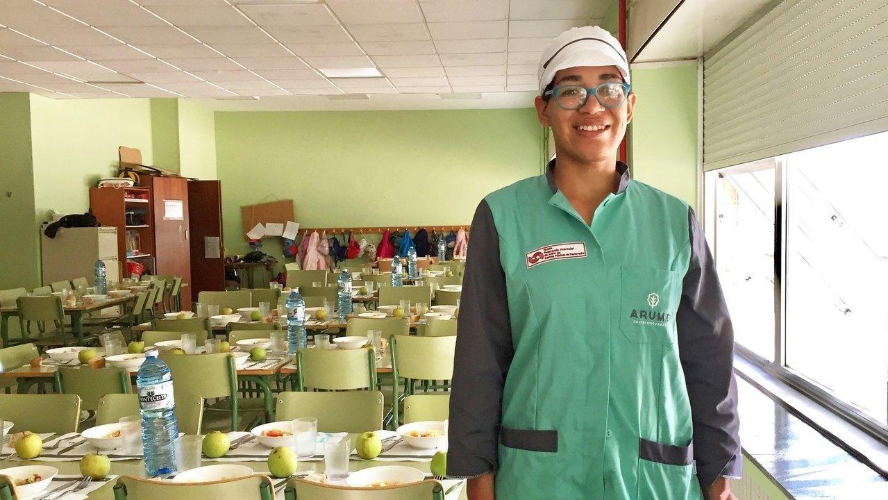 Cecilia también quiere y puede trabajar en los comedores ...