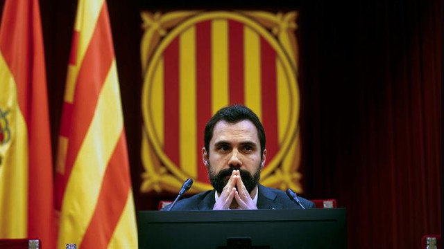 Roger Torrent, presidente del Parlament. QUIQUE GARCÍA