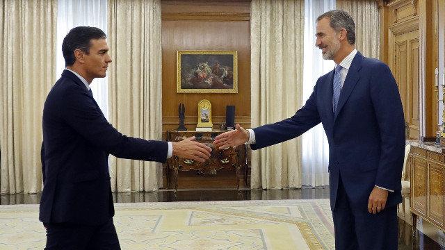 Pedro Sánchez, designado por tercera vez candidato a presidente por el Rey