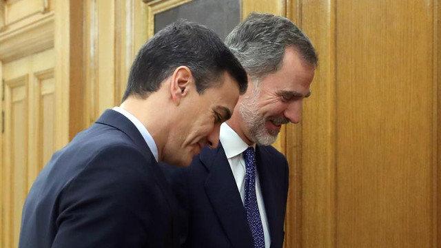 Pedro Sánchez acepta el encargo del Rey sin tener el apoyo de ERC asegurado