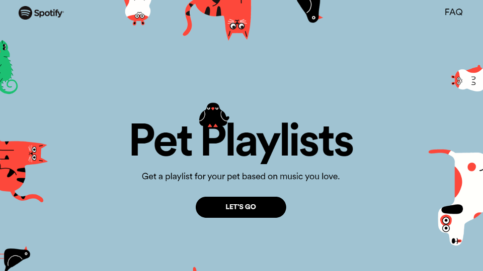 Pet Playlists. SPOTIFY