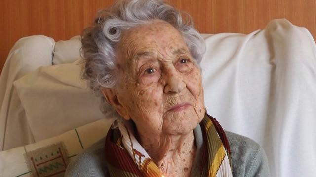 María Branyas. TWITTER