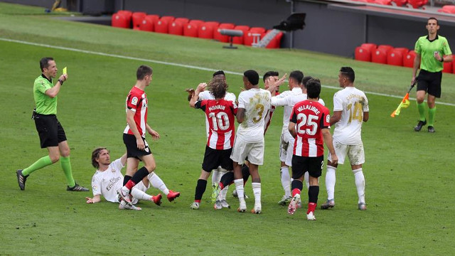 Athletic 0-1 Real Madrid