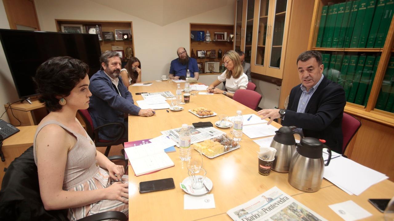 Os candidatos priorizan a recuperación do tecido industrial