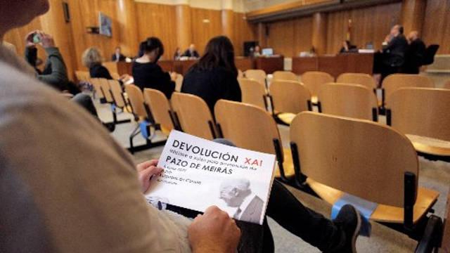 Emilio Grandío apunta a que el Pazo de Meirás se mantuvo con fondos públicos