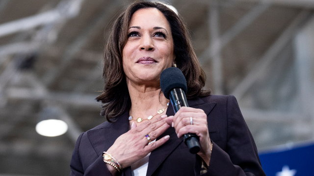 Kamala Harris. ETIENNE LAURENT (EFE)