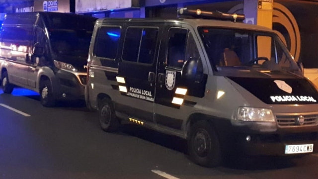 Forgones de la Policía Local de las Palmas de Gran Canaria.Europa Press