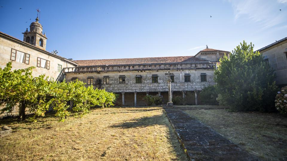 Vista interior del convento de Santa Clara. BEATRIZ CÍSCAR